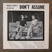 Maggie Nicols & Peter Nu ‎– Don't Assume
