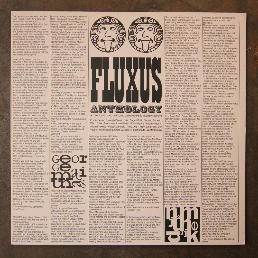 Various ‎– Fluxus Anthology