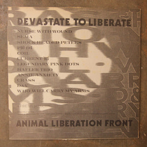 Various ‎– Devastate To Liberate