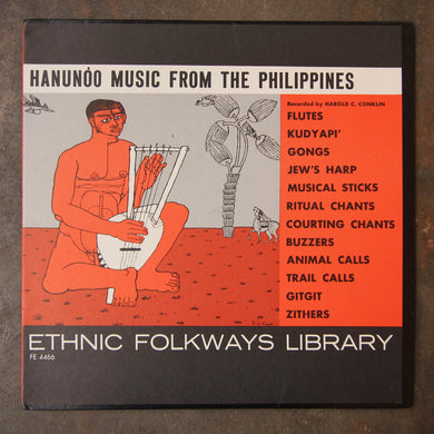 Hanunóo ‎– Hanunóo Music From The Philippines
