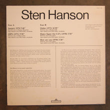Sten Hanson ‎– Text-Sound Compositions