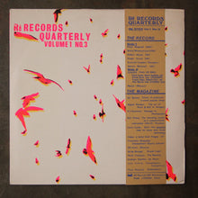 Various ‎– Rē Records Quarterly Vol. 1 No. 3