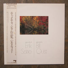 Erik Satie - Bill Quist ‎– Piano Solos Of Erik Satie