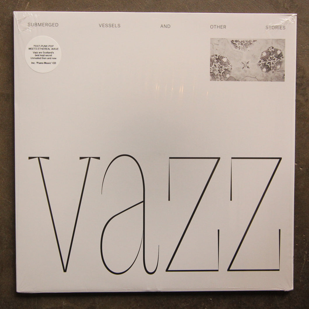 Vazz / Hugh Small ‎– Submerged Vessels And Other Stories / Piano Music (2014 - 2016)