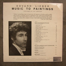 Edvard Lieber ‎– Music To Paintings