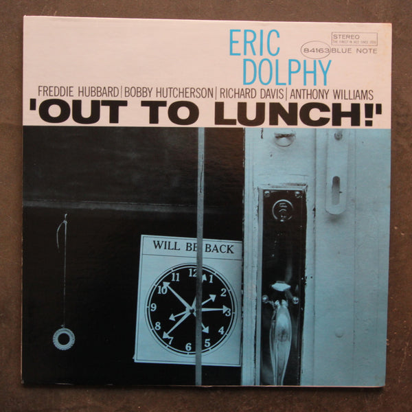 Eric Dolphy ‎– Out To Lunch!