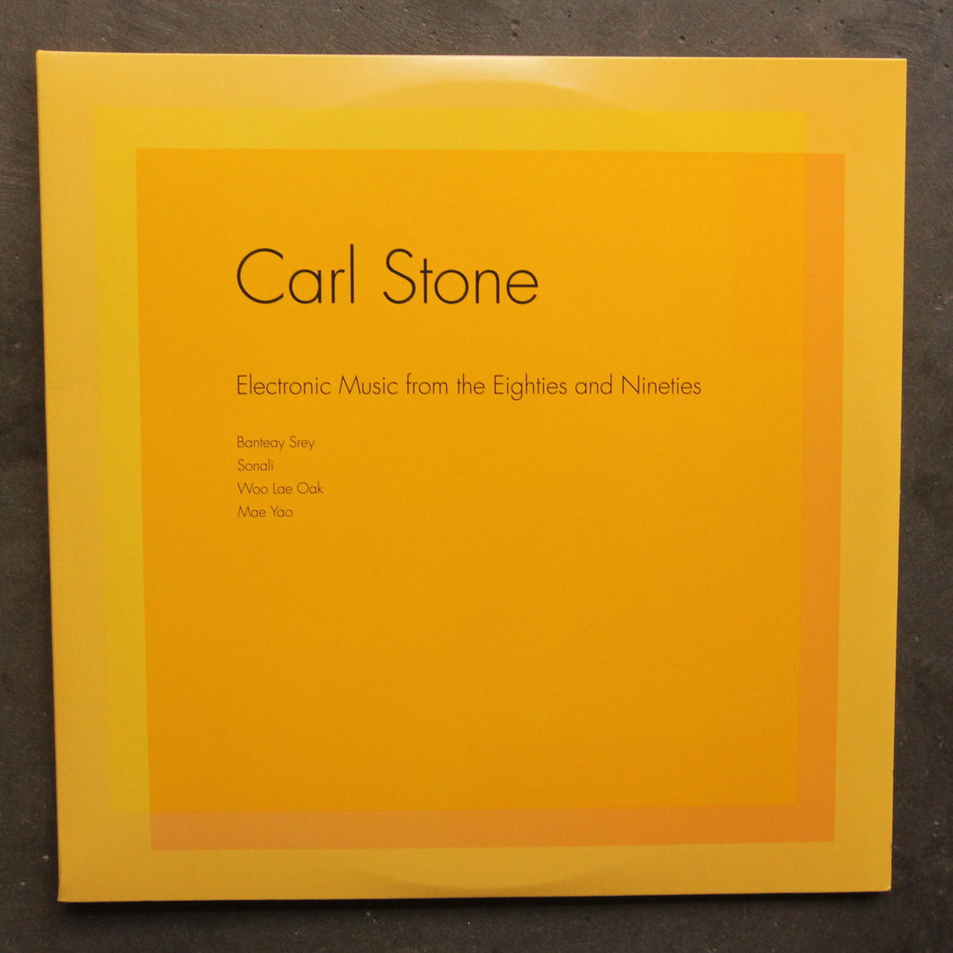 Carl Stone ‎– Electronic Music From The Eighties And Nineties