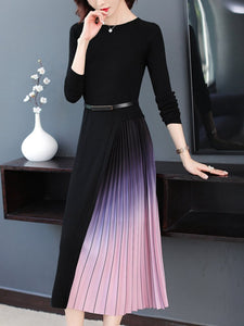 New dress high-end foreign style bottoming skirt thickened
