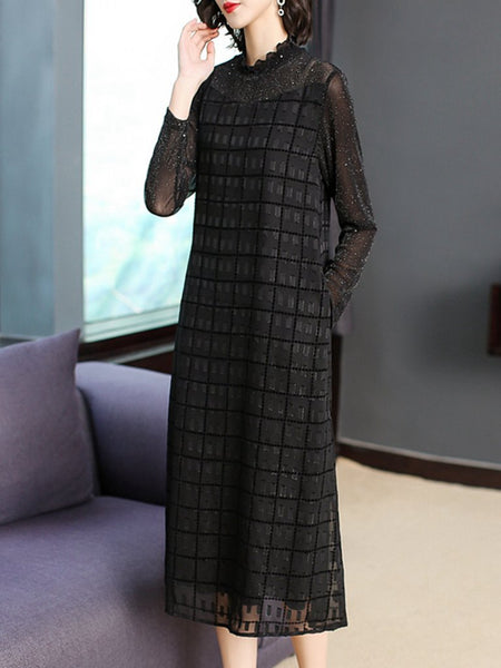 Air field noble large size high-end dress