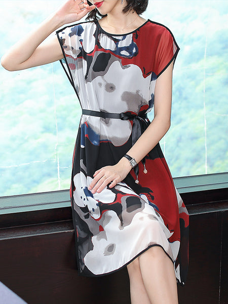 New super heavy silk mulberry elegant dress