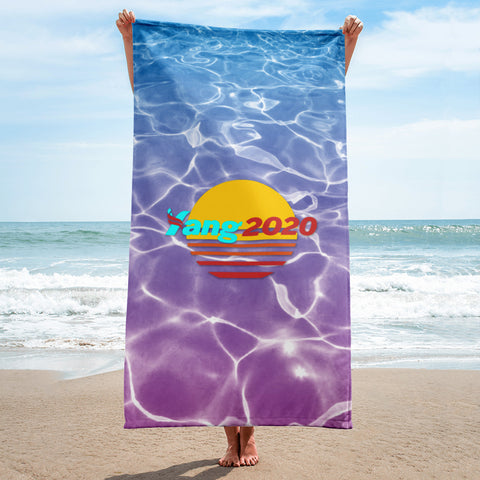 YANG GANG Spring Break Towel