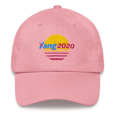 YANG 2020 Retro Dad Hat