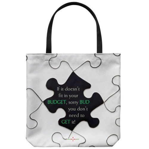 Stick to Your Budget - Tote Bag