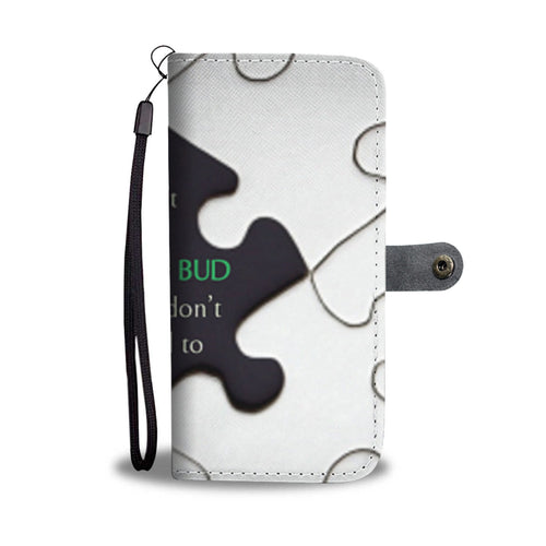 Stick to Your Budget - Phone Wallet Case