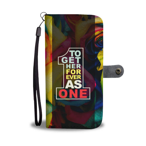 Together Forever As One - Phone Wallet Case