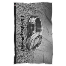 "Load image into Gallery viewer, I Love Being Married - Sherpa Blanket (70""x44"")"