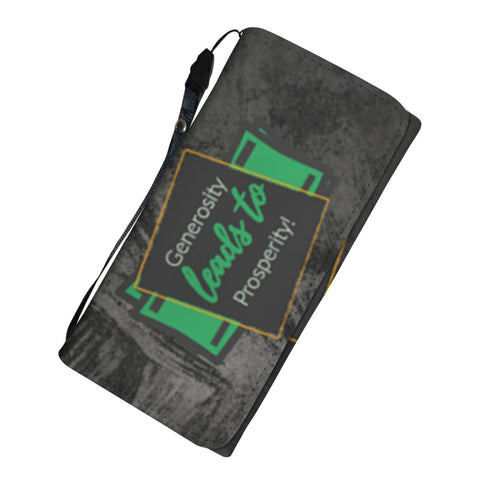 Generosity Leads to Prosperity - Women's Wallet