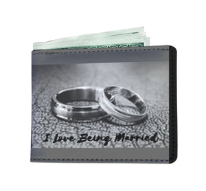 I Love Being Married - Men's Wallet