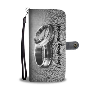 I Love Being Married - Phone Wallet Case