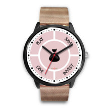 Load image into Gallery viewer, Save-Invest-Give-Play - Black Watch (7 band options)