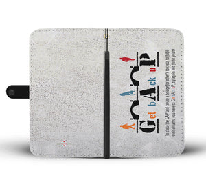 Get Back Up - Phone Wallet Case