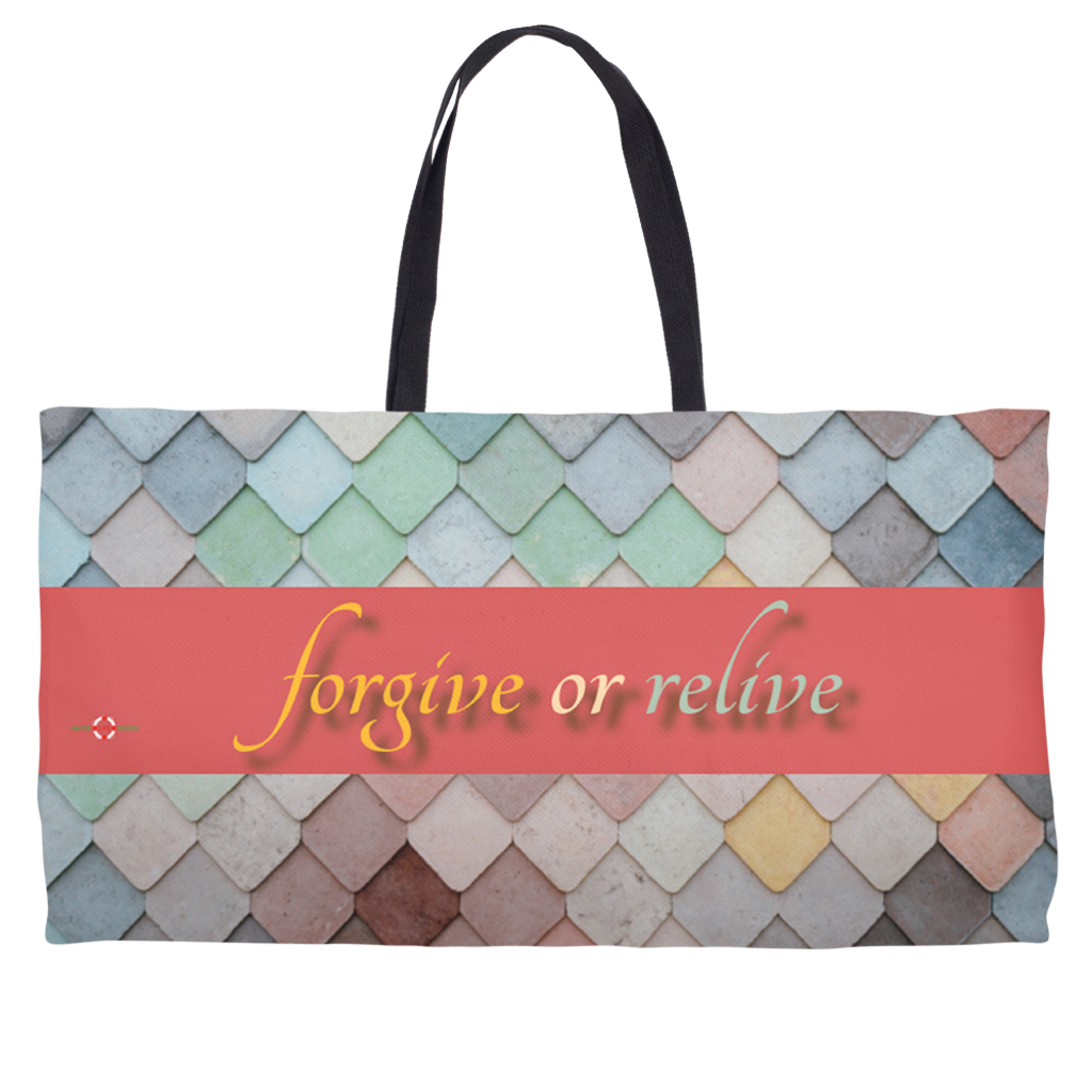 Forgive or Relive - Weekender Tote Bag