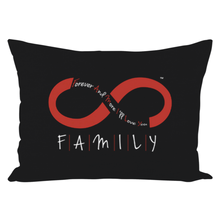 Load image into Gallery viewer, FAMILY - Throw Pillows (Black)