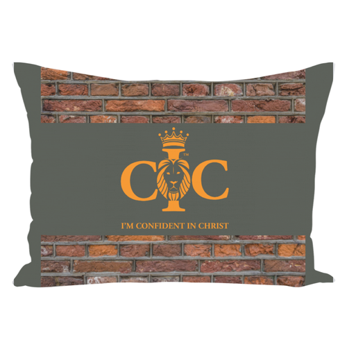 Confident in Christ - Throw Pillows