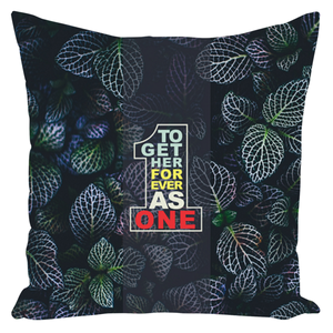 Together Forever As One - Throw Pillows