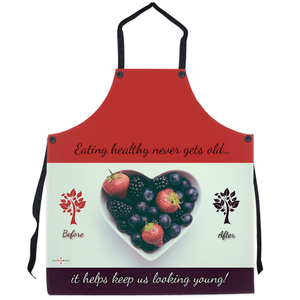 Eating Healthy Keeps Us Young - Apron