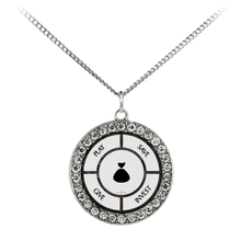Load image into Gallery viewer, Save-Invest-Give-Play - Necklace (Stone Coin)
