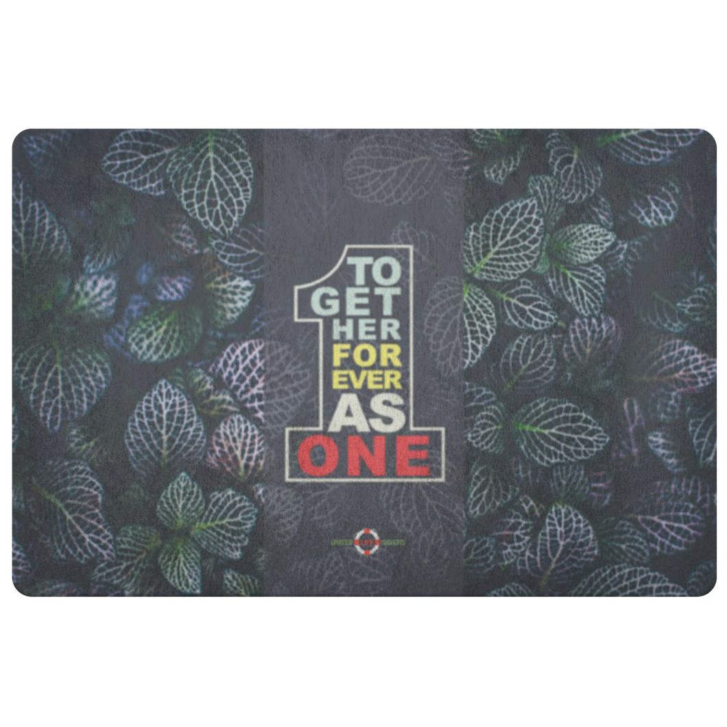 Together Forever As One - Doormat