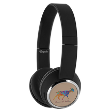 Load image into Gallery viewer, Being StubBORN to be G.O.A.T. - Beebop Bluetooth Headphones
