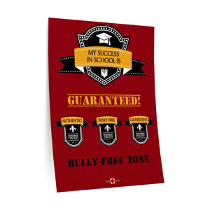 School Success Guaranteed - Wall Decals (Red)
