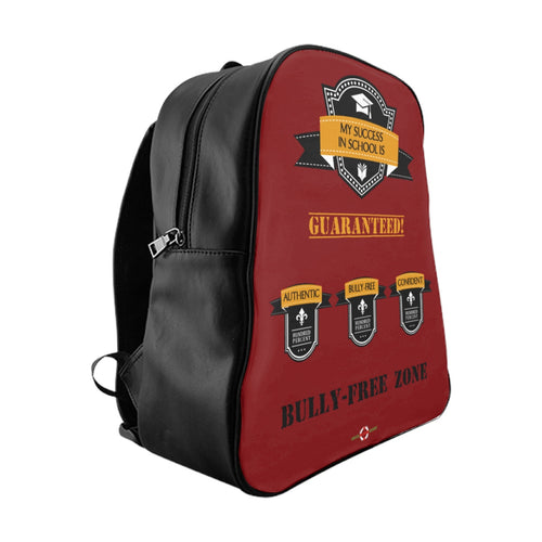 Success - School Backpack (Red front)