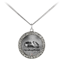 Load image into Gallery viewer, I Love Being Married - Necklace (Stone Coin)