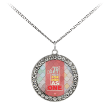Load image into Gallery viewer, Together Forever As One - Necklace (Stone Coin)