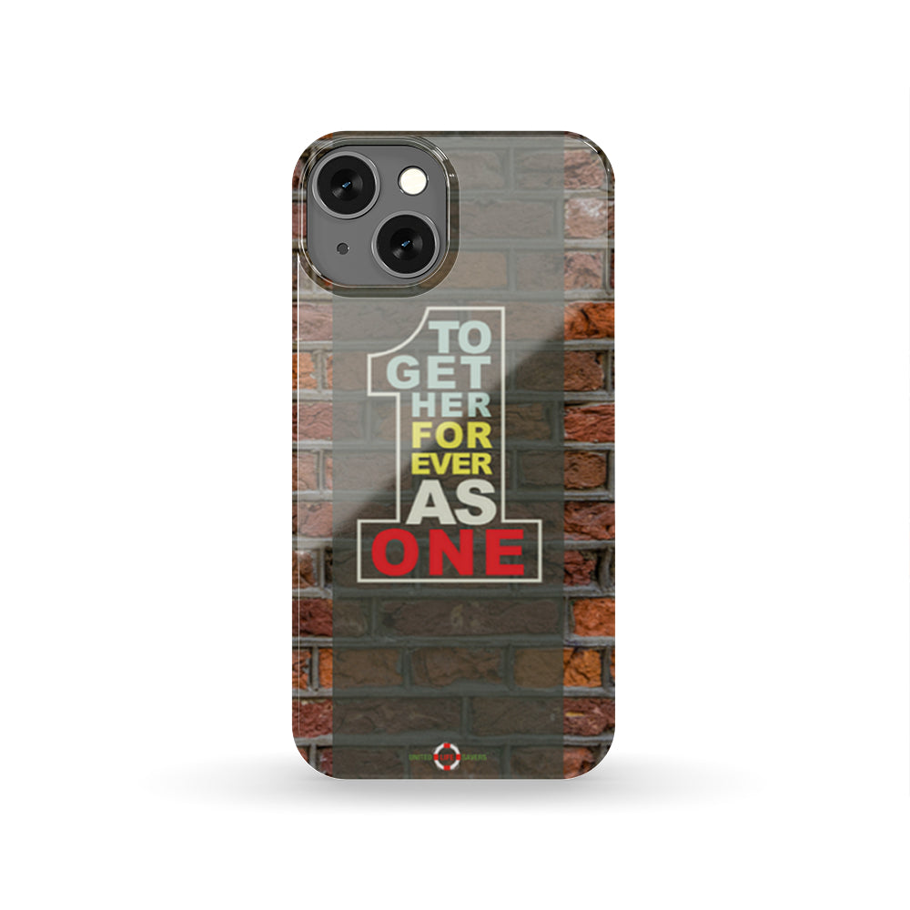 Together Forever As One - (22+ phone case models supported)