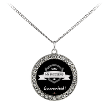 Load image into Gallery viewer, My Success is Guaranteed - Necklace (Stone Coin)