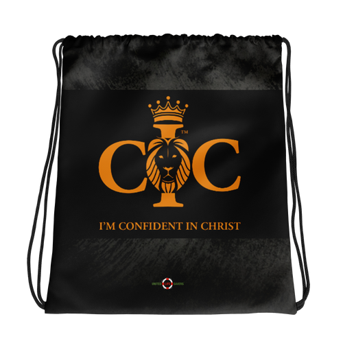 Confident in Christ - Drawstring bag