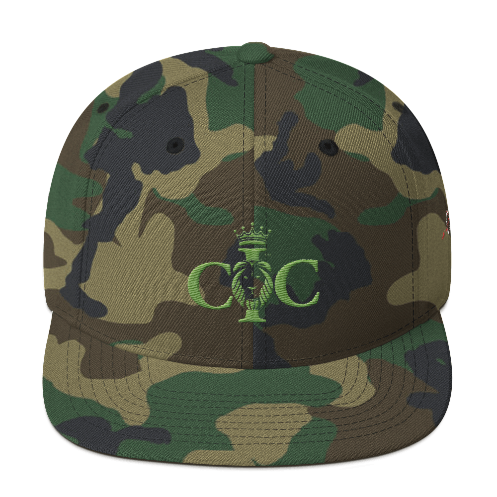 Confidence in Christ - Snapback Hat