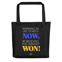 Load image into Gallery viewer, Now You Won - Tote bag