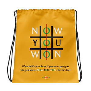 Now You Won - Drawstring bag