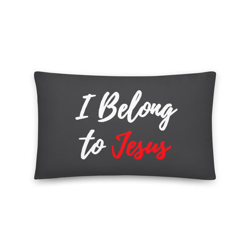I Belong to Jesus - Throw Pillow