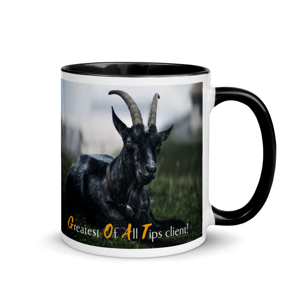 GOAT Tip - Black Back