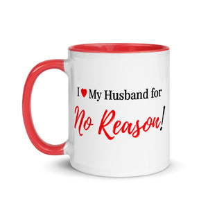 I Love My Husband - Mug