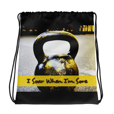 I Soar when I'm Sore - Drawstring bag