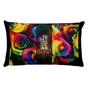 Together Forever As One - Throw Pillow (with hidden zipper)