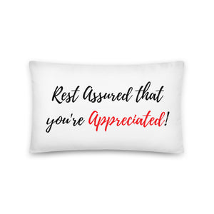 Rest Assured - Throw Pillow