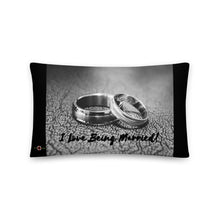 Load image into Gallery viewer, I Love Being Married - Throw Pillow